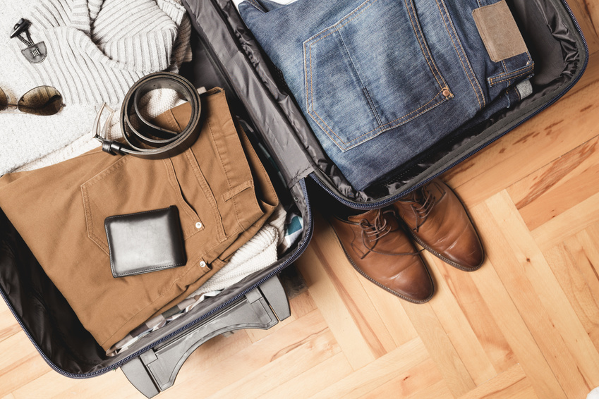 Koffer packen schwere Sachen zuerst