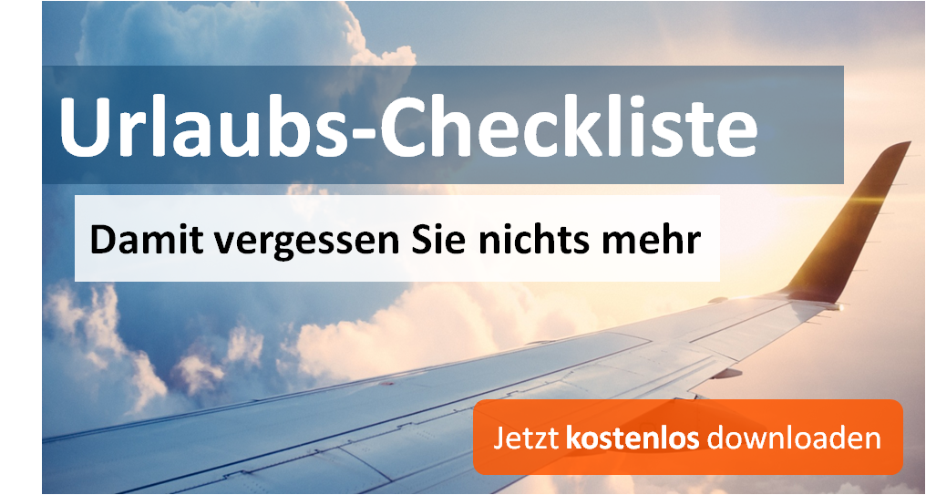 Download Urlaubs-Checkliste