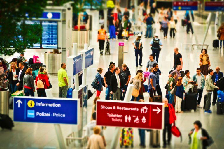 Information Flughafen